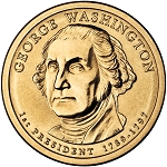 2007 D George Washington Dollar Uncirculated