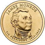 2008-D James Monroe Dollar Uncirculated