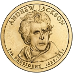 2008-D Andrew Jackson Dollar Uncirculated