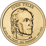 2009-P John Tyler Dollar Uncirculated