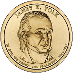 2009-P James K. Polk Dollar Uncirculated