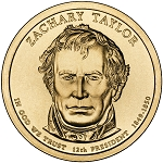 2009-D Zachary Taylo Dollarr Uncirculated