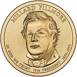 2010-D Millard Fillmore Dollar Uncirculated