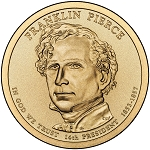 2010-D Franklin Pierce Dollar Uncirculated