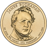 2010-D James Buchanan Dollar Uncirculated