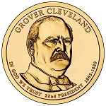 2012-D Grover Cleveland Dollar 1st.Term Uncirculated