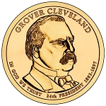 2012-D Grover Cleveland Dollar 2nd.Term Uncirculated