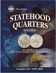 Whitman Statehood Quarter Coin Folder 1999-2009 Date Set