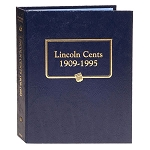 Whitman Classic Lincoln Cent Coin Album 1909 to 1995