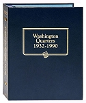 Whitman Classic Washington Quarter Coin Album 1932 to 1990