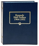Whitman Classic Kennedy Half Dollar Coin Album 1964 to 2002