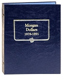 Whitman Classic Morgan Dollar Coin Album Vol. 1 1878 to 1891