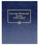 Whitman Classic Memorial Cent Coin Album 1959 to 2007