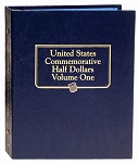 Whitman Classic Commemorative Half-Dollar Coin Albun Vol. 1