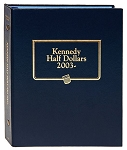 Whitman Classic Kennedy Half Dollar Coin Album Starting 2003 - 2013