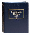 Whitman Classic Presidential Dollar Deluxe Coin Album Single Coin For Each President