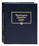 Whitman Classic Statehood Quarter Coin Album D.C. and Territorial Issues of 2009