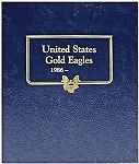 Whitman Classic Gold Eagle Coin Album