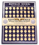 Whitman Tribute Edition Coin Board Single Board for Buffalo Nickels