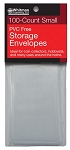 Whitman PVC Free Storage Envelopes - Small - Package of 100