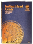 Whitman Indian Cent Coin Folder 1857 to 1909 - (9003)