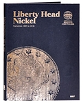 Whitman Liberty Nickel Coin Folder 1883 to 1912 - (9007)