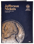 Whitman Jefferson Nickel Coin Folder #1 - 1938 to 1961 - (9009)