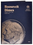 Whitman Roosevelt Dime Coin Folder #1 - 1946 to 1964 - (9029)