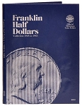 Whitman Franklin Half-Dollar Coin Folder 1948 to 1963 - (9032)