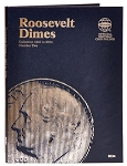 Whitman Roosevelt Dime Coin Folder #2 - 1965 to 2004 - (9034)