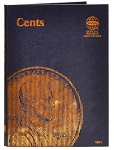 Whitman Plain Cent Coin Folder - (9041)