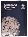 Whitman Statehood Quarter Coin Folder #1 - 1999 to 2001 - (9697)