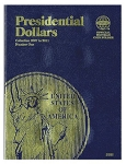 Whitman Presidential Dollar Folder Vol. #1 2007 - 2011 - (2181)