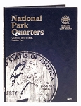 Whitman National Park Quarter Coin Folder #2 -2016-2021 - (2877)