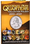 Whitman Deluxe Edition National Park Quarters Collectors Folder Year Set 2010-2021
