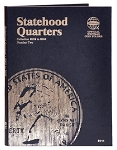 Whitman Statehood Quarter Coin Folder #2 - 2002 to 2005 - (8111)