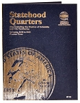 Whitman Statehood Quarter Coin Folder #3 - 2006 to 2009 - (8112)