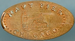 Chicago Navy Pier Elongated Cent