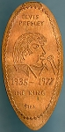 Elongated Cent - Elvis Presley 1935-1977 The King