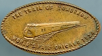 World's Fair Elongated Cent - The Train of Tomorrow