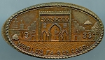 World's Fair Elongated Cent - Morocco