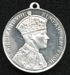 1937 King Edward VIII Coronation Token