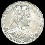 1902 King Edward VII and Queen Alexandra Coronation Medal