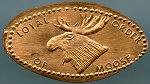 Loyal Order of Moose Elongated Cents