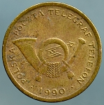 1990 Poland - Telephone Token