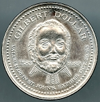 1983 St. John's Trade Token Gilbert Dollar Canadian Municipal Trade Tokens Newfoundland