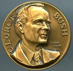 George Bush Medallic Art's Presidential Series Medal
