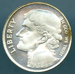 Coincraft 1938 Jefferson Nickel Pattern Coin Cameo