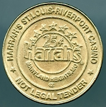 Harrah's St. Louis Riverport Casino 25¢  Gaming Token