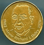 1977 Mayor Richard J. Daley Saint Patrick's Day Parade Memorial Token